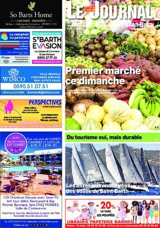 Journal de Saint-Barth N°1274 du 12/04/2018