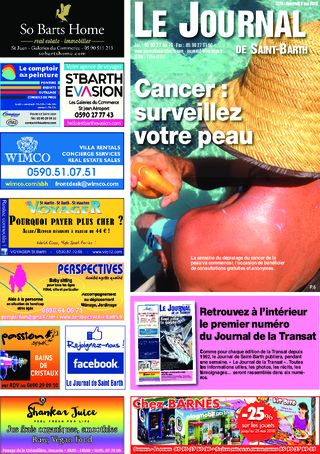 Journal de Saint-Barth N°1278 du 09/05/2018