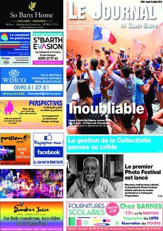 Coupe du monde / Conseil Territorial / Photo Festival / Gestion de la Collectivité / Poids-lourds - 1288 du 19/07/2018