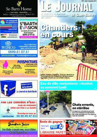 Journal de Saint-Barth N°1294 du 13/09/2018