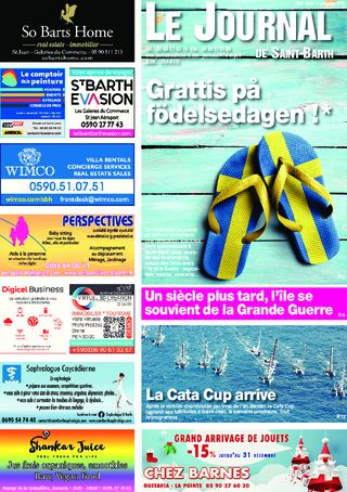 Journal de Saint-Barth N°1302 du 08/11/2018