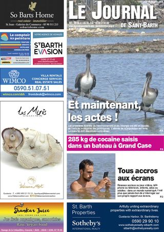 Journal de Saint-Barth N°1307 du 13/12/2018