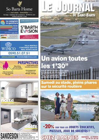 Journal de Saint-Barth N°1310 du 10/01/2019
