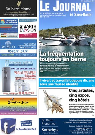 Journal de Saint-Barth N°1313 du 31/01/2019