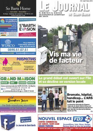 Journal de Saint-Barth N°1314 du 07/02/2019