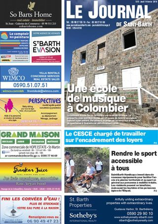 Journal de Saint-Barth N°1315 du 14/02/2019