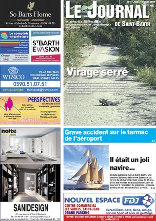 Journal de Saint-Barth N°1316 du 21/02/2019