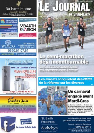 Journal de Saint-Barth N°1317 du 28/02/2019