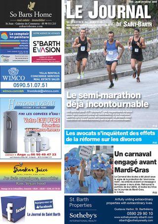 Journal de Saint-Barth N°1317 du 28/02/2019