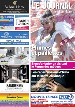 Journal de Saint-Barth N°1318 du 07/03/2019