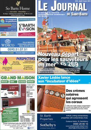 Journal de Saint-Barth N°1319 du 14/03/2019