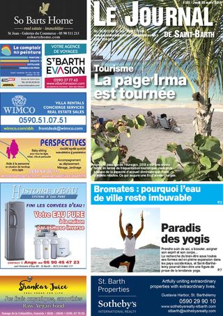 Journal de Saint-Barth N°1321 du 28/03/2019