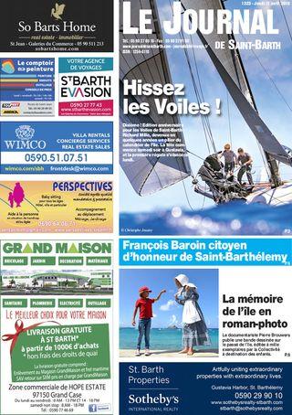 Journal de Saint-Barth N°1323 du 11/04/2019