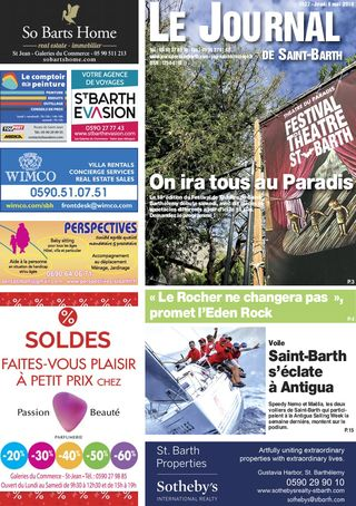 Journal de Saint-Barth N°1327 du 09/05/2019