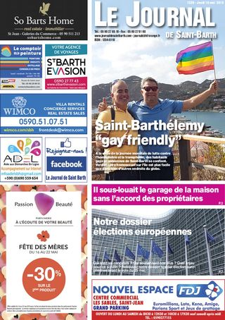 Journal de Saint-Barth N°1328 du 16/05/2019