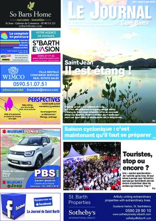 Journal de Saint-Barth N°1331 du 06/06/2019