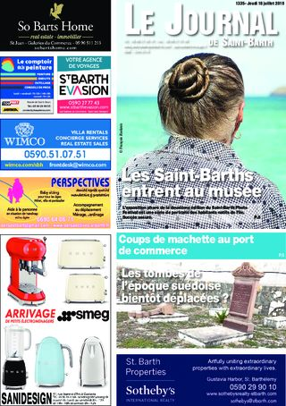 Journal de Saint-Barth N°1335 du 18/07/2019
