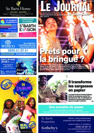 Journal de Saint-Barth N°1337 du 01/08/2019