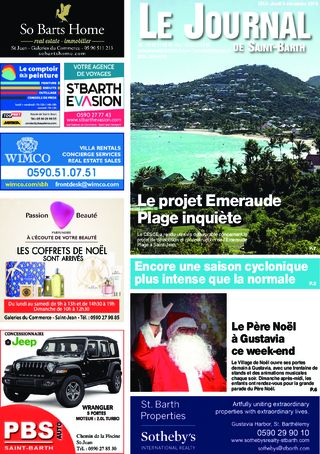 Journal de Saint-Barth N°1353 du 05/12/2019