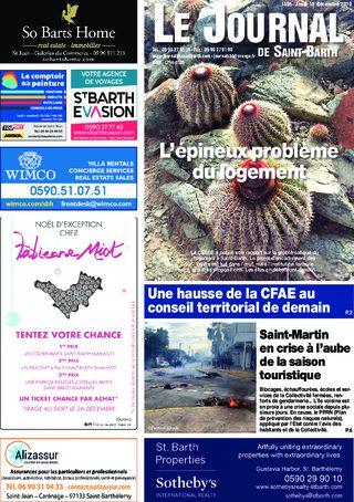 Journal de Saint-Barth N°1355 du 19/12/2019