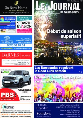 Journal de Saint-Barth N°1357 du 09/01/2020