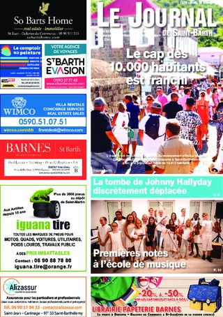 Journal de Saint-Barth N°1358 du 16/01/2020