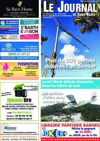 Journal de Saint-Barth N°1360 du 30/01/2020