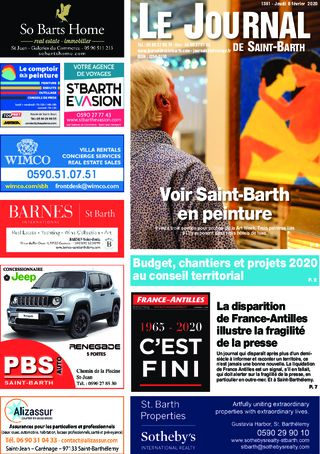 Journal de Saint-Barth N°1361 du 06/02/2020