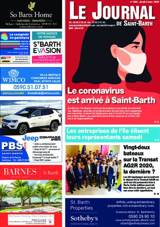 Journal de Saint-Barth N°1365 du 05/03/2020