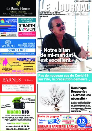 Journal de Saint-Barth N°1366 du 12/03/2020