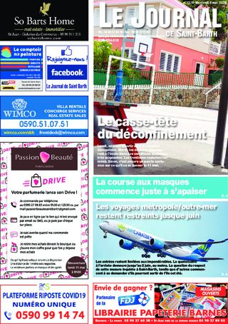 Journal de Saint-Barth N°1374 du 06/05/2020