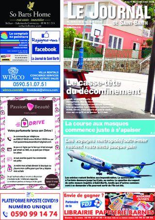 Journal de Saint-Barth N°1374 du 06/05/2020