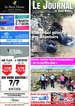Journal de Saint-Barth N°1376 du 20/05/2020