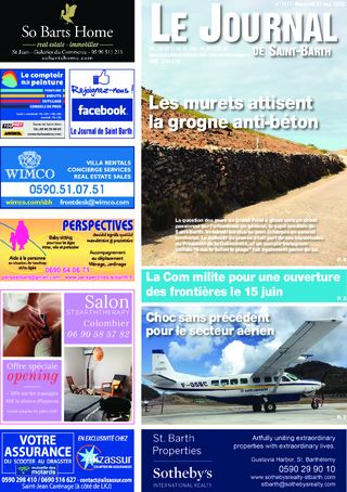 Journal de Saint-Barth N°1377 du 27/05/2020