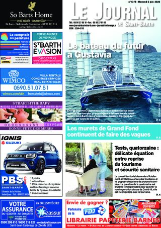 Journal de Saint-Barth N°1378 du 03/06/2020