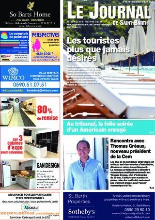 Journal de Saint-Barth N°1379 du 10/06/2020
