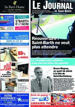 Journal de Saint-Barth N°1380 du 17/06/2020