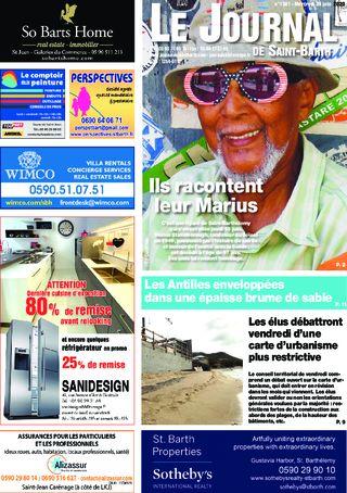 Journal de Saint-Barth N°1381 du 24/06/2020