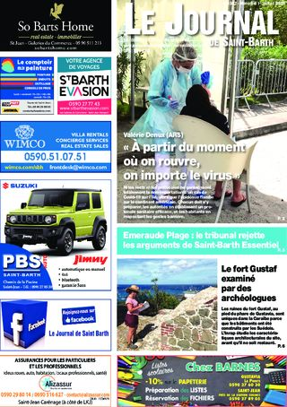Journal de Saint-Barth N°1382 du 01/07/2020