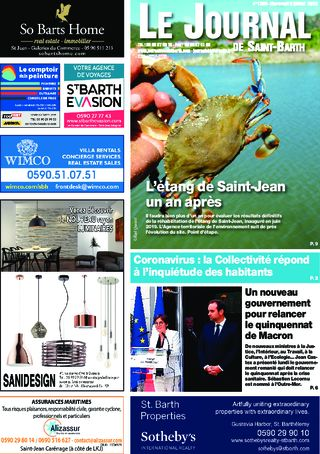 Journal de Saint-Barth N°1383 du 08/07/2020