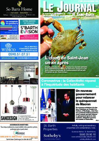Journal de Saint-Barth N°1383 du 08/07/2020