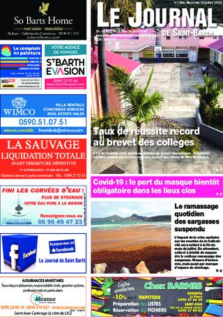 Journal de Saint-Barth N°1384 du 15/07/2020