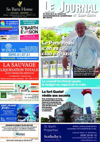 Journal de Saint-Barth N°1385 du 22/07/2020