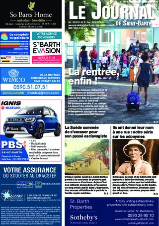 Journal de Saint-Barth N°1387 du 02/09/2020