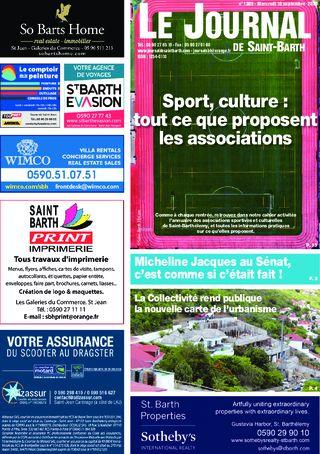 Journal de Saint-Barth N°1389 du 16/09/2020