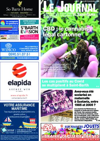 Journal de Saint-Barth N°1390 du 23/09/2020