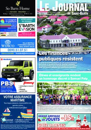 Journal de Saint-Barth N°1396 du 04/11/2020