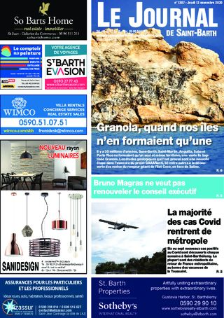 Journal de Saint-Barth N°1397 du 12/11/2020
