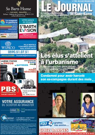 Journal de Saint-Barth N°1400 du 02/12/2020
