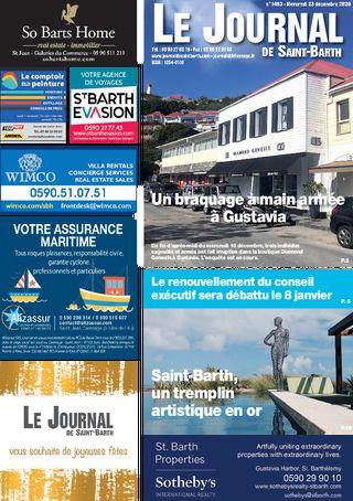 Journal de Saint-Barth N°1403 du 23/12/2020
